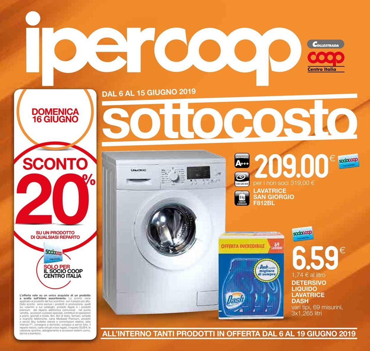 Volantino Coop - Offerte 06/06-19/06/2019
