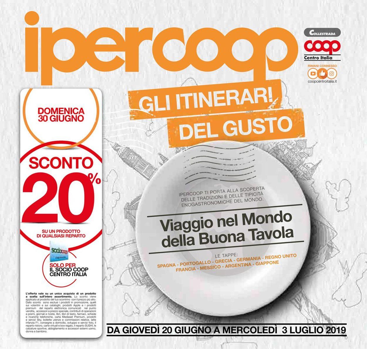 Volantino Coop - Offerte 20/06-03/07/2019