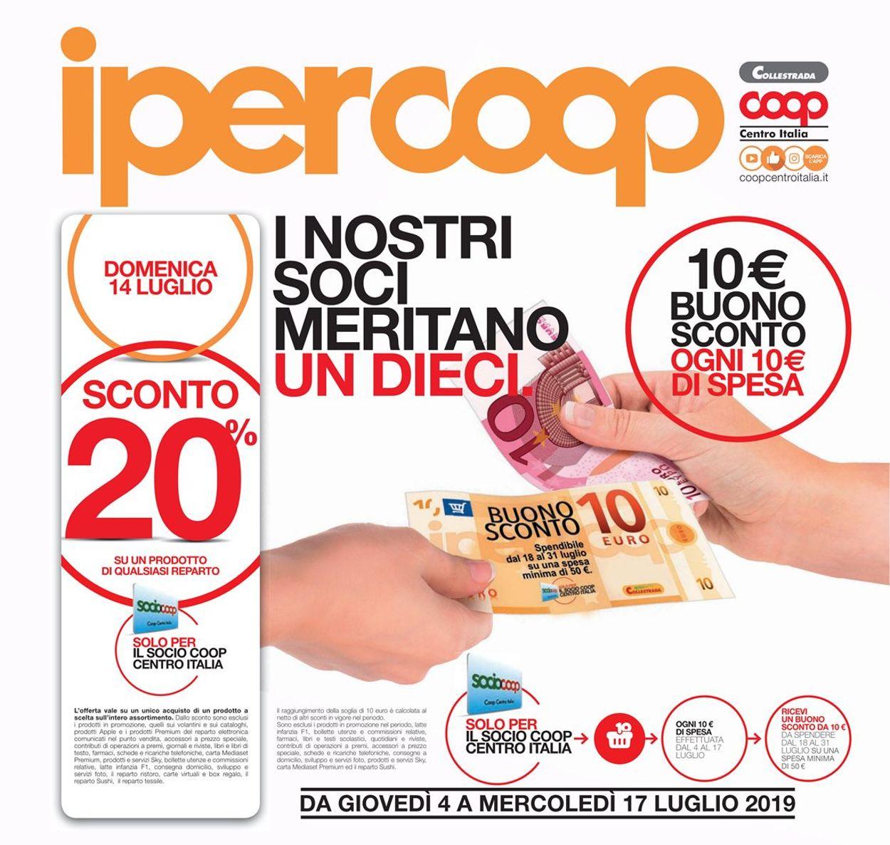 Volantino Coop - Offerte 04/07-17/07/2019