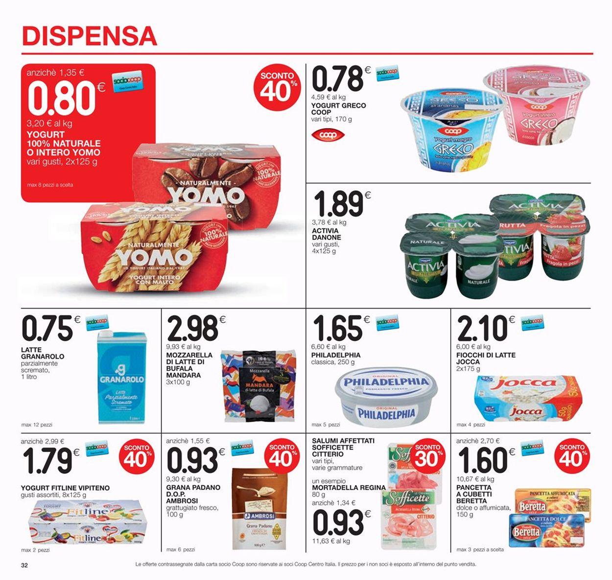 Volantino Coop - Offerte 04/07-17/07/2019 (Pagina 32)