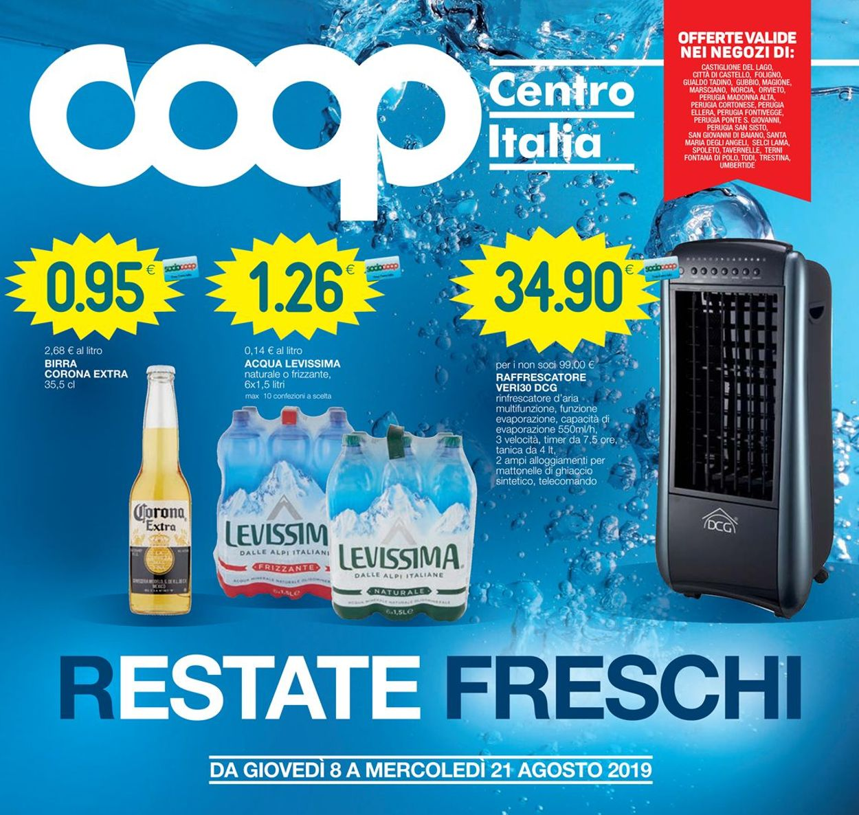 Volantino Coop - Offerte 08/08-21/08/2019