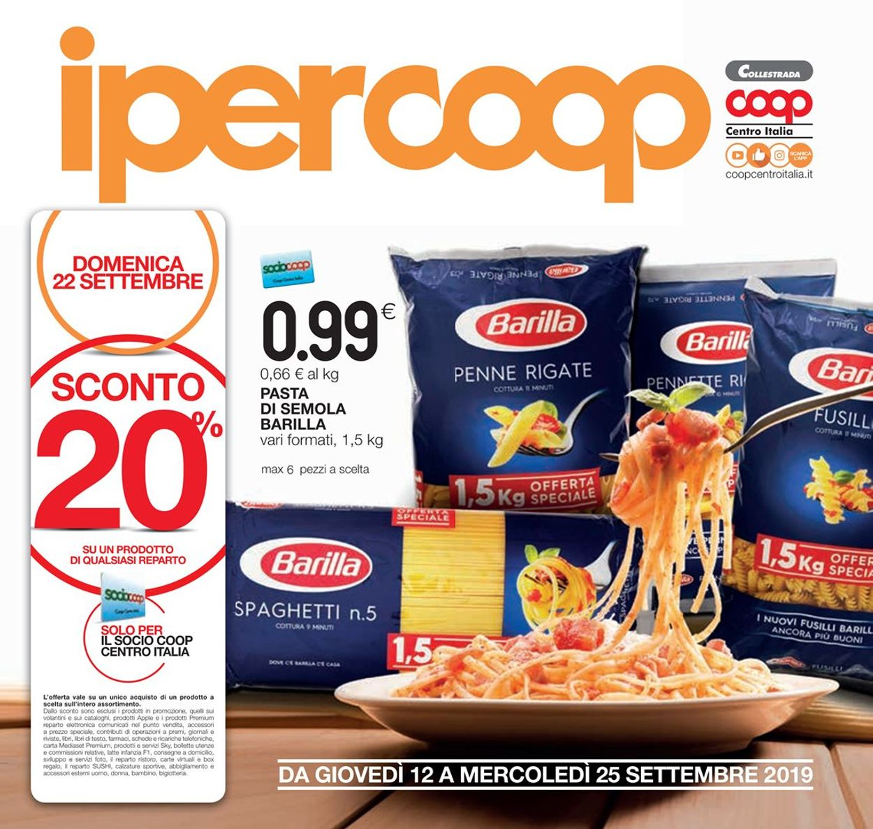 Volantino Coop - Offerte 12/09-25/09/2019