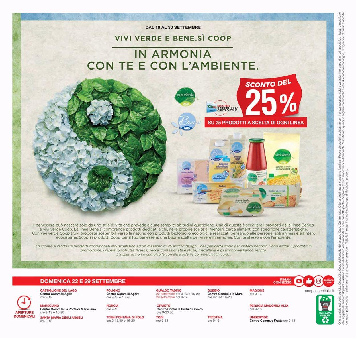 Volantino Coop - Offerte 19/09-02/10/2019 (Pagina 28)