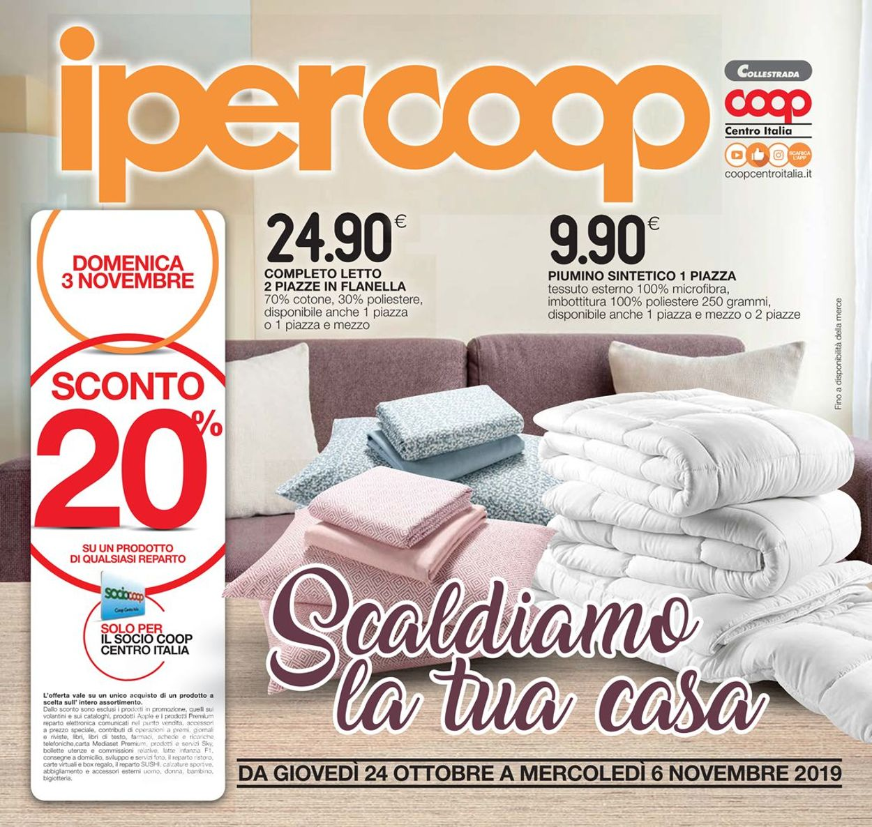 Volantino Coop - Offerte 24/10-06/11/2019