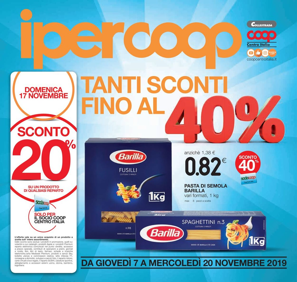 Volantino Coop - Offerte 07/11-20/11/2019