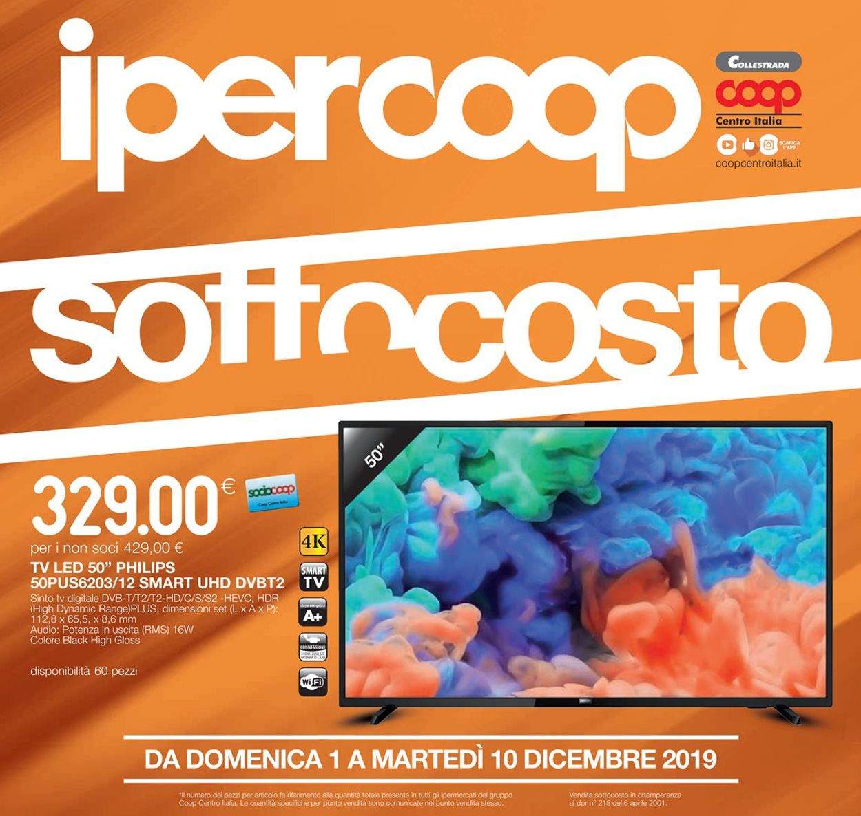 Volantino Coop - Offerte 01/12-10/12/2019