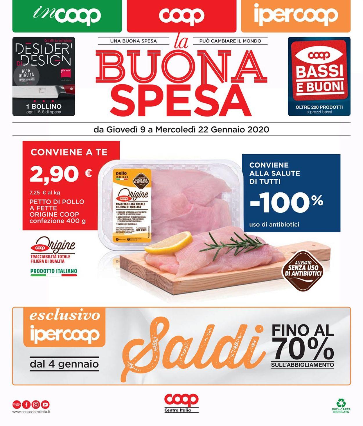 Volantino Coop - Offerte 09/01-22/01/2020