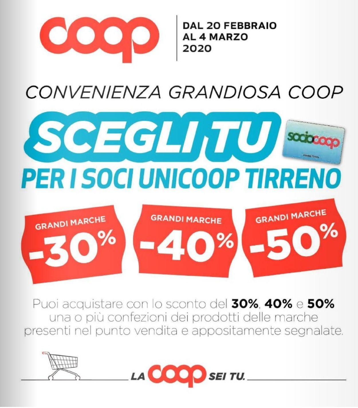 Volantino Coop - Offerte 20/02-04/03/2020