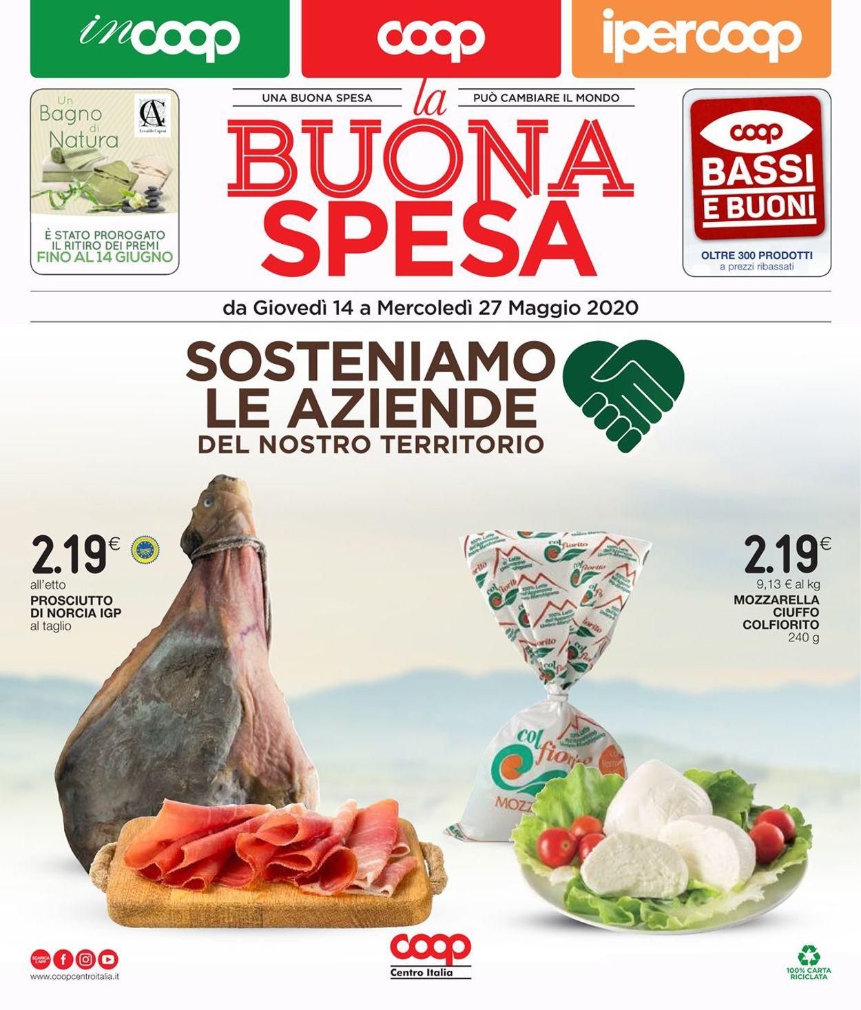Volantino Coop - Offerte 14/05-27/05/2020