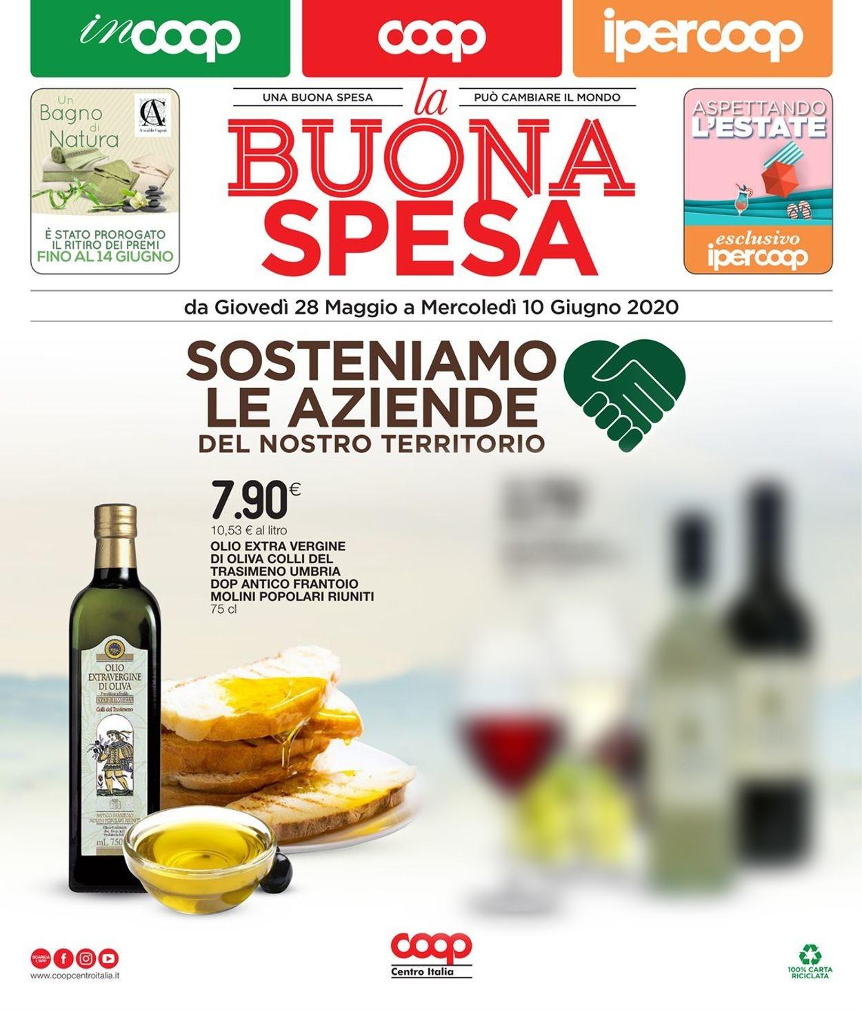 Volantino Coop - Offerte 28/05-10/06/2020