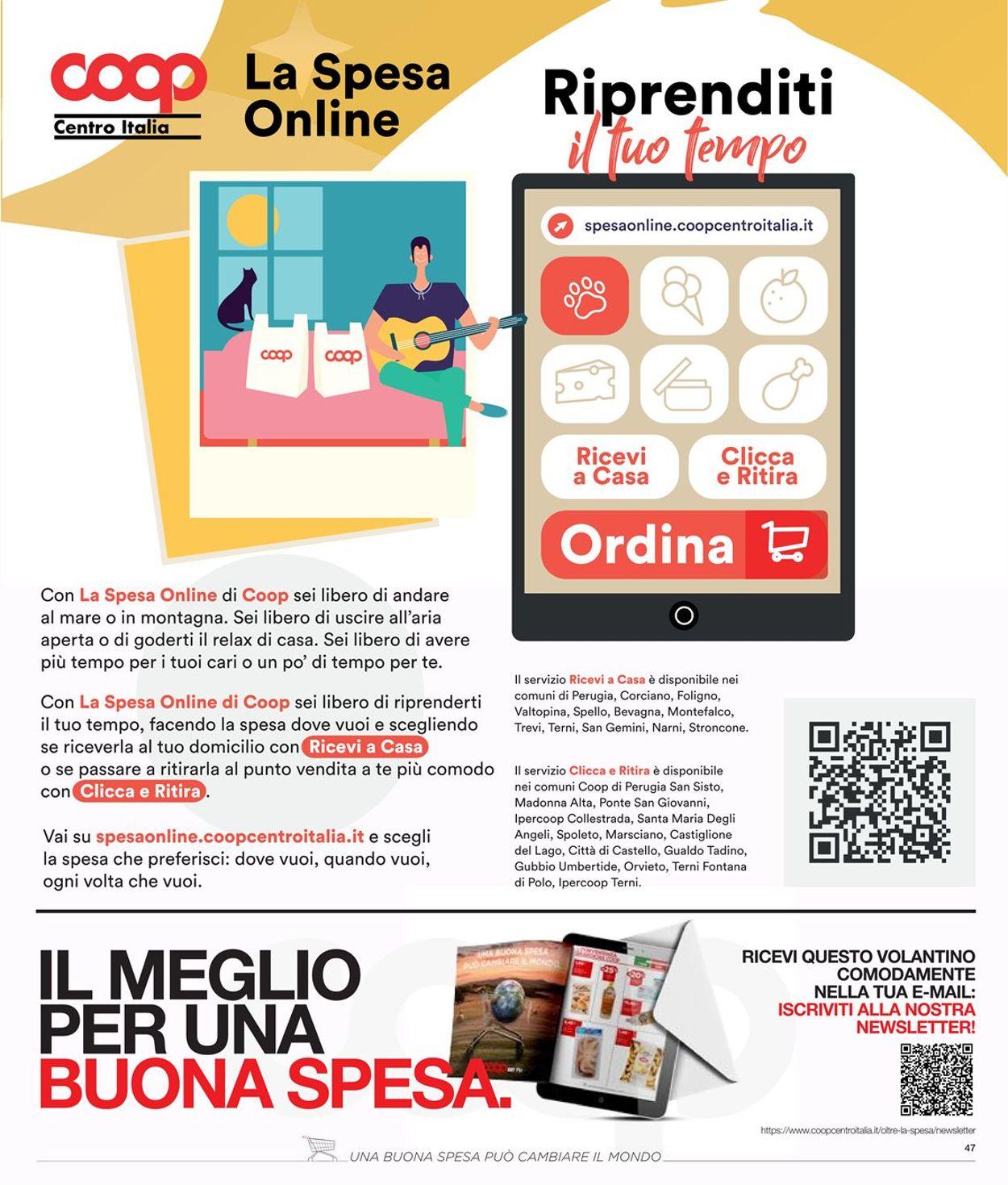 Volantino Coop - Offerte 23/07-05/08/2020 (Pagina 47)