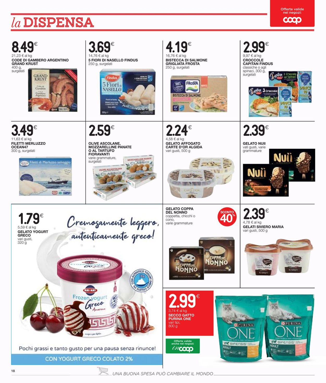 Volantino Coop - Offerte 23/07-05/08/2020 (Pagina 18)