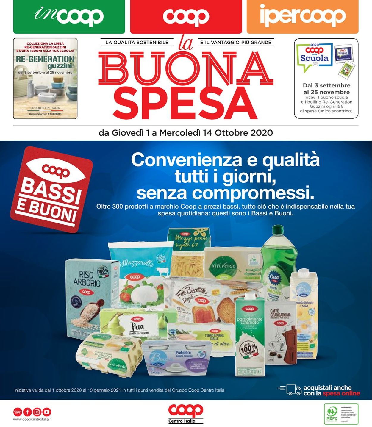Volantino Coop - Offerte 01/10-14/10/2020