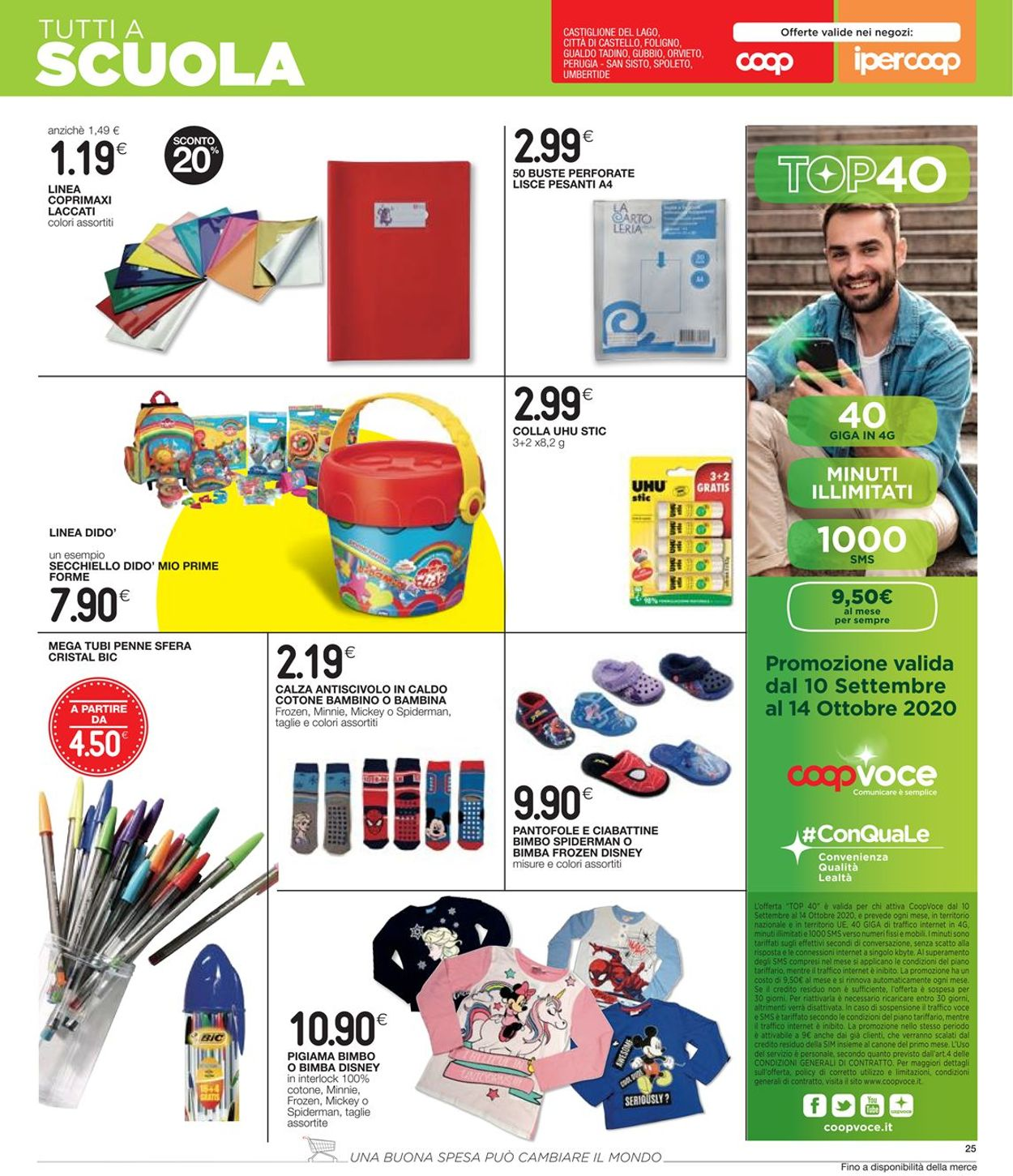 Volantino Coop - Offerte 01/10-14/10/2020 (Pagina 25)