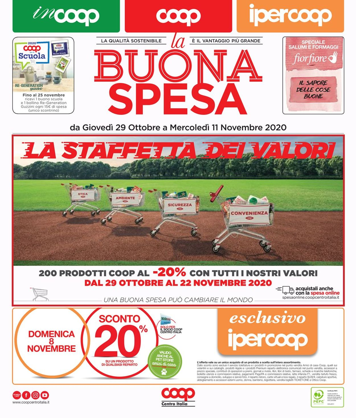 Volantino Coop - Offerte 15/10-28/10/2020