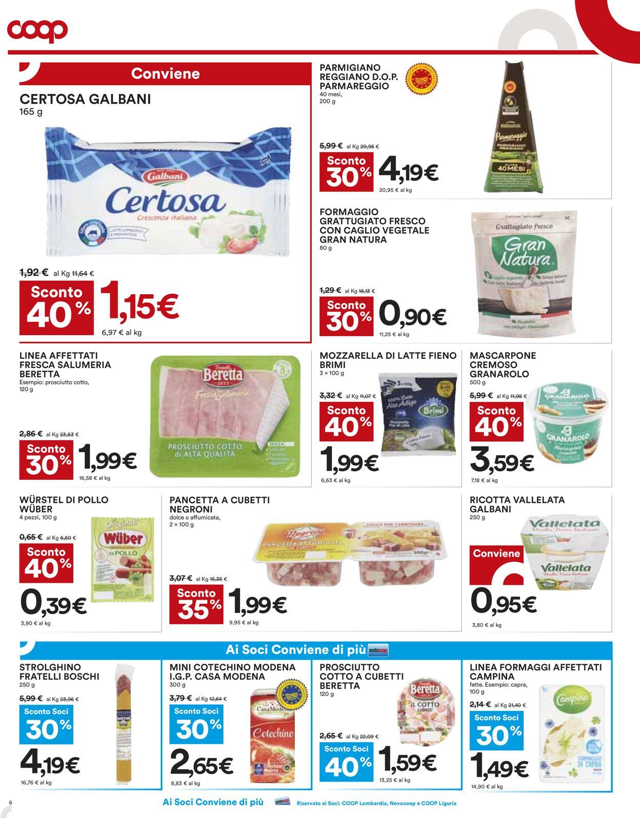 Volantino Coop - Offerte 29/10-11/11/2020 (Pagina 6)