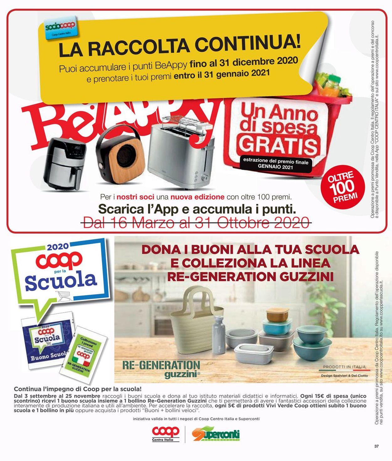 Volantino Coop - Offerte 29/10-11/11/2020 (Pagina 37)