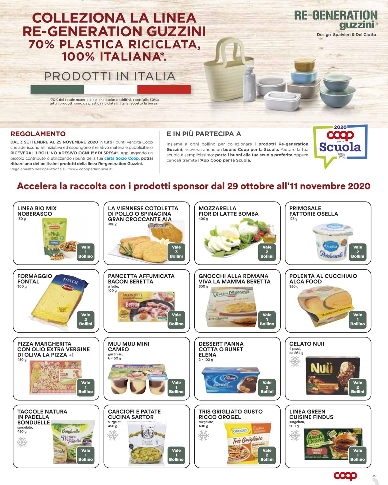 Volantino Coop - Offerte 29/10-11/11/2020 (Pagina 13)
