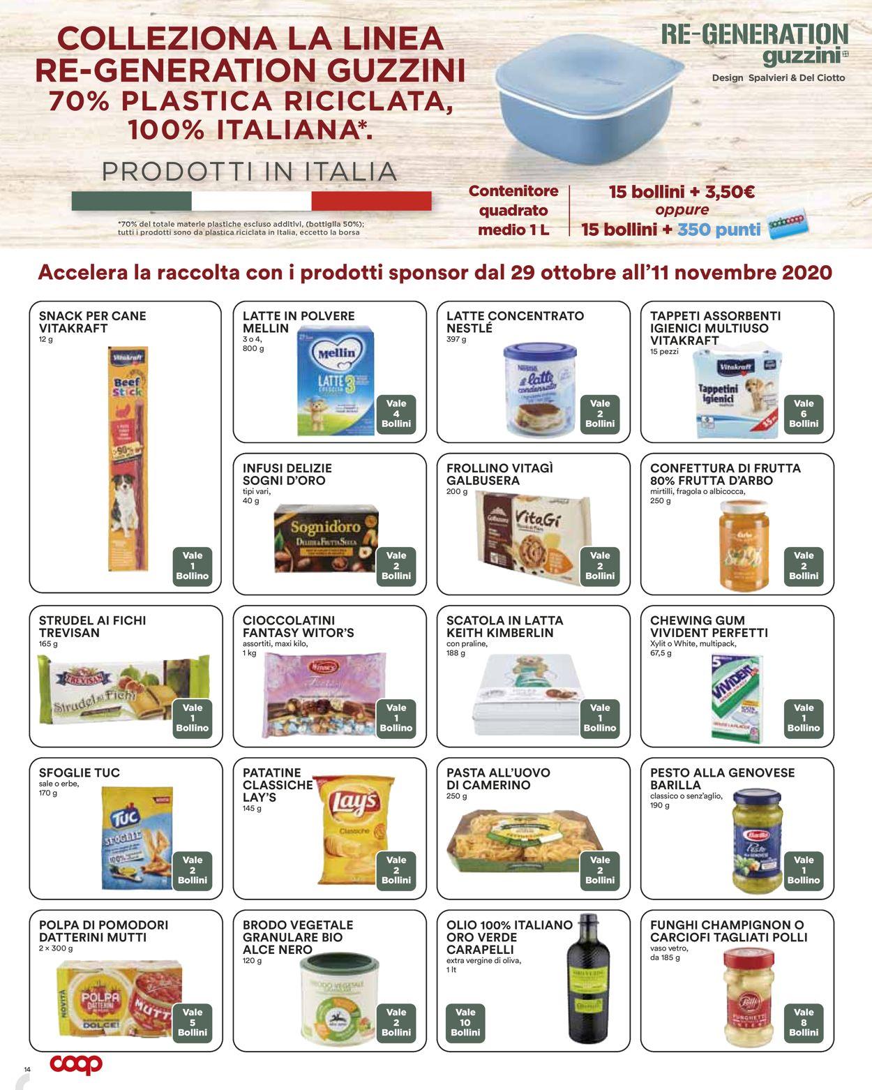 Volantino Coop - Offerte 29/10-11/11/2020 (Pagina 14)
