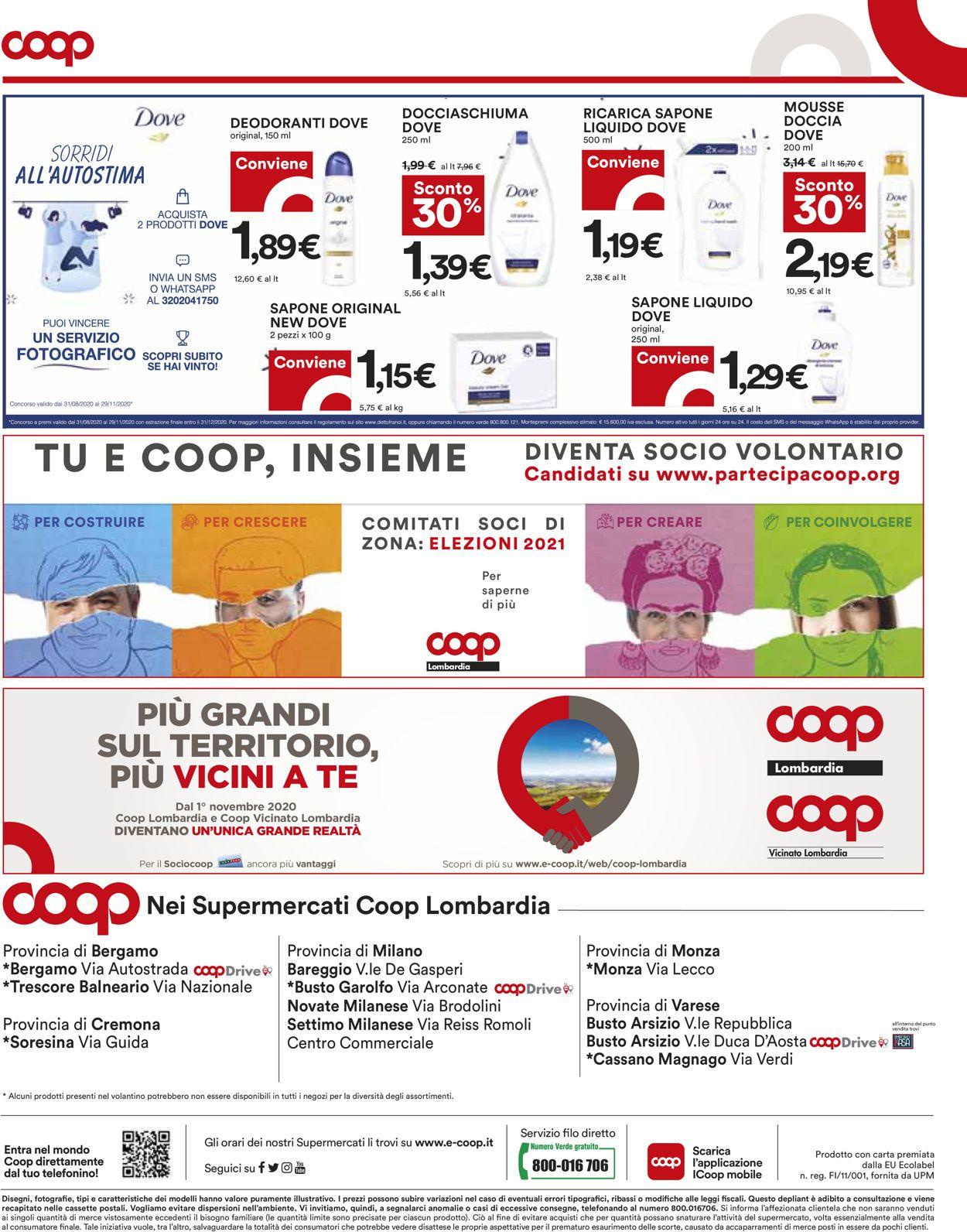 Volantino Coop - Offerte 29/10-11/11/2020 (Pagina 16)