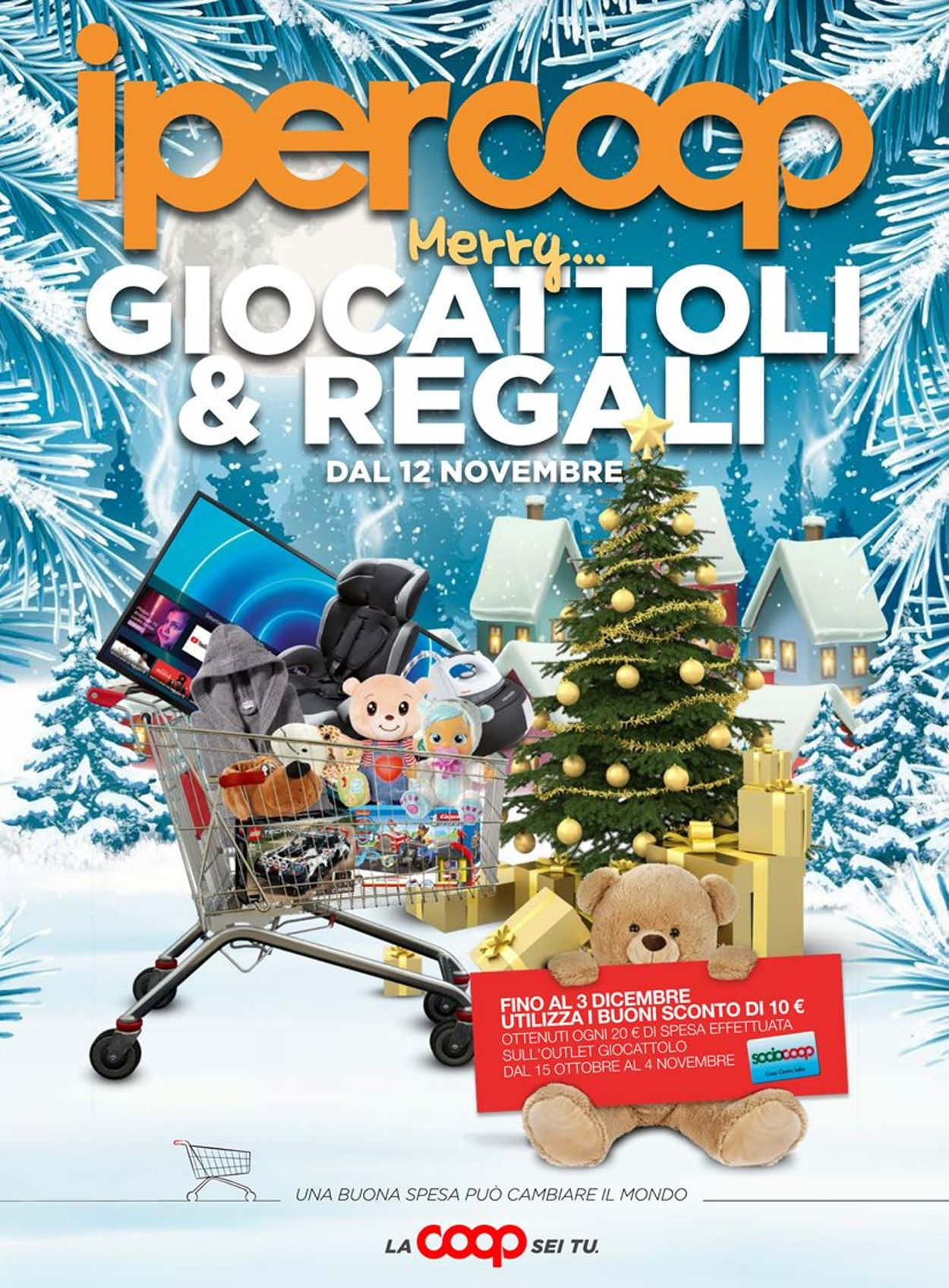 Volantino Coop - Natale 2020 - Offerte 12/11-22/11/2020