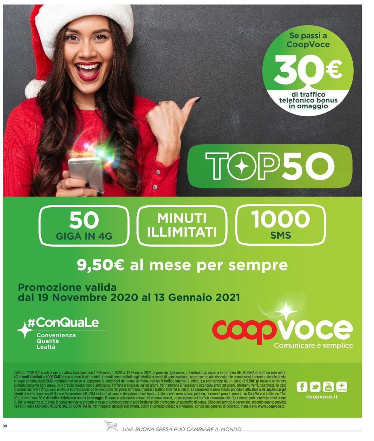 Volantino Coop - Offerte 23/11-02/12/2020 (Pagina 30)
