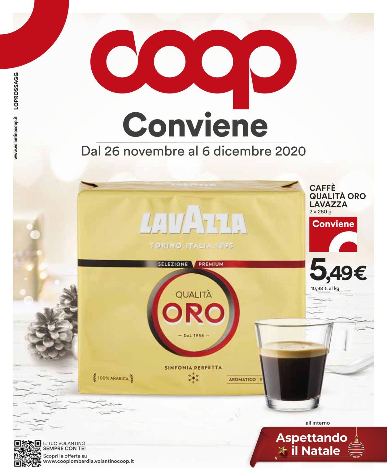 Volantino Coop - Black Friday 2020 - Offerte 26/11-06/12/2020