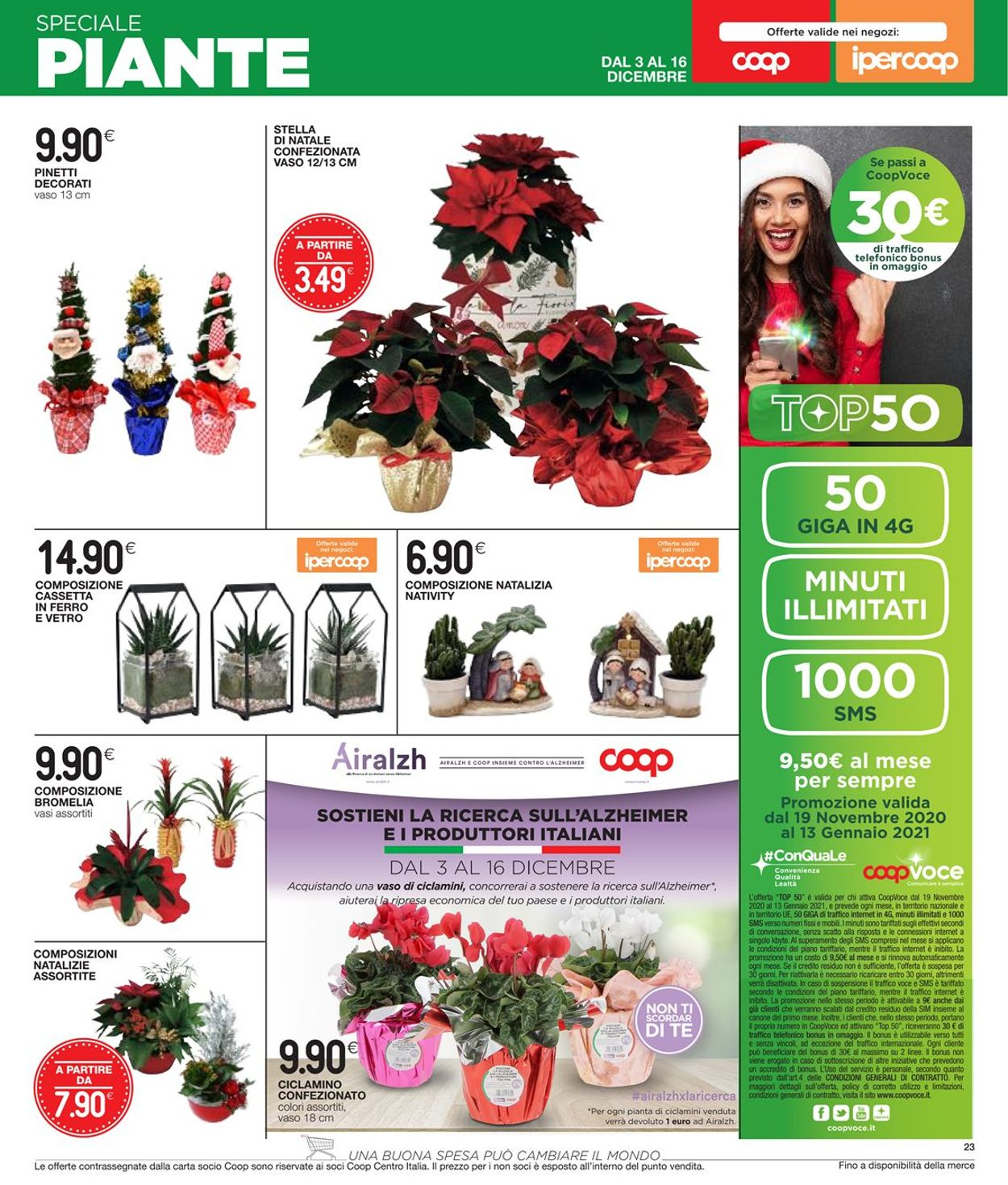 Volantino Coop - Natale 2020 - Offerte 03/11-16/12/2020 (Pagina 23)