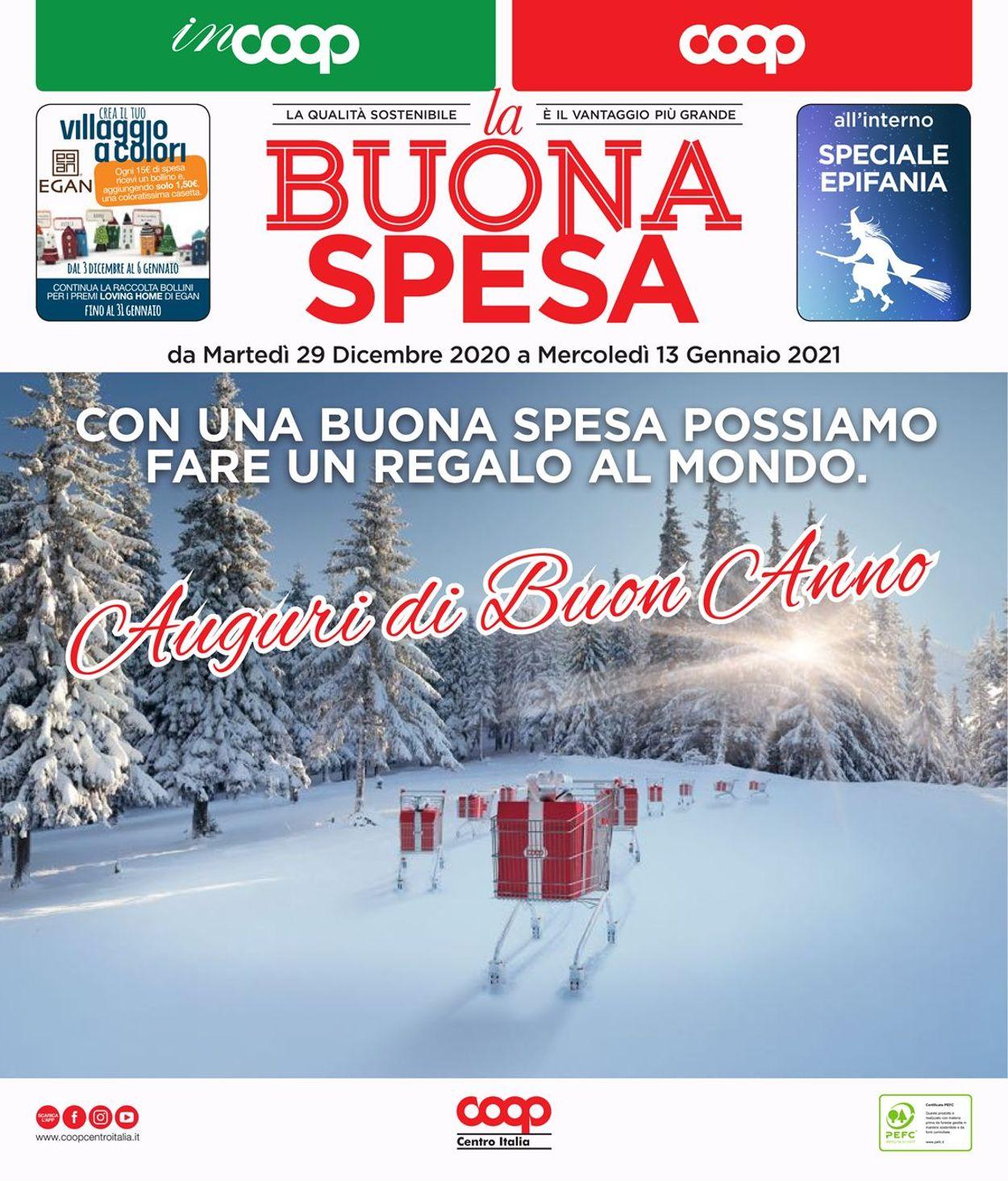 Volantino Coop - Offerte 29/12-13/01/2021