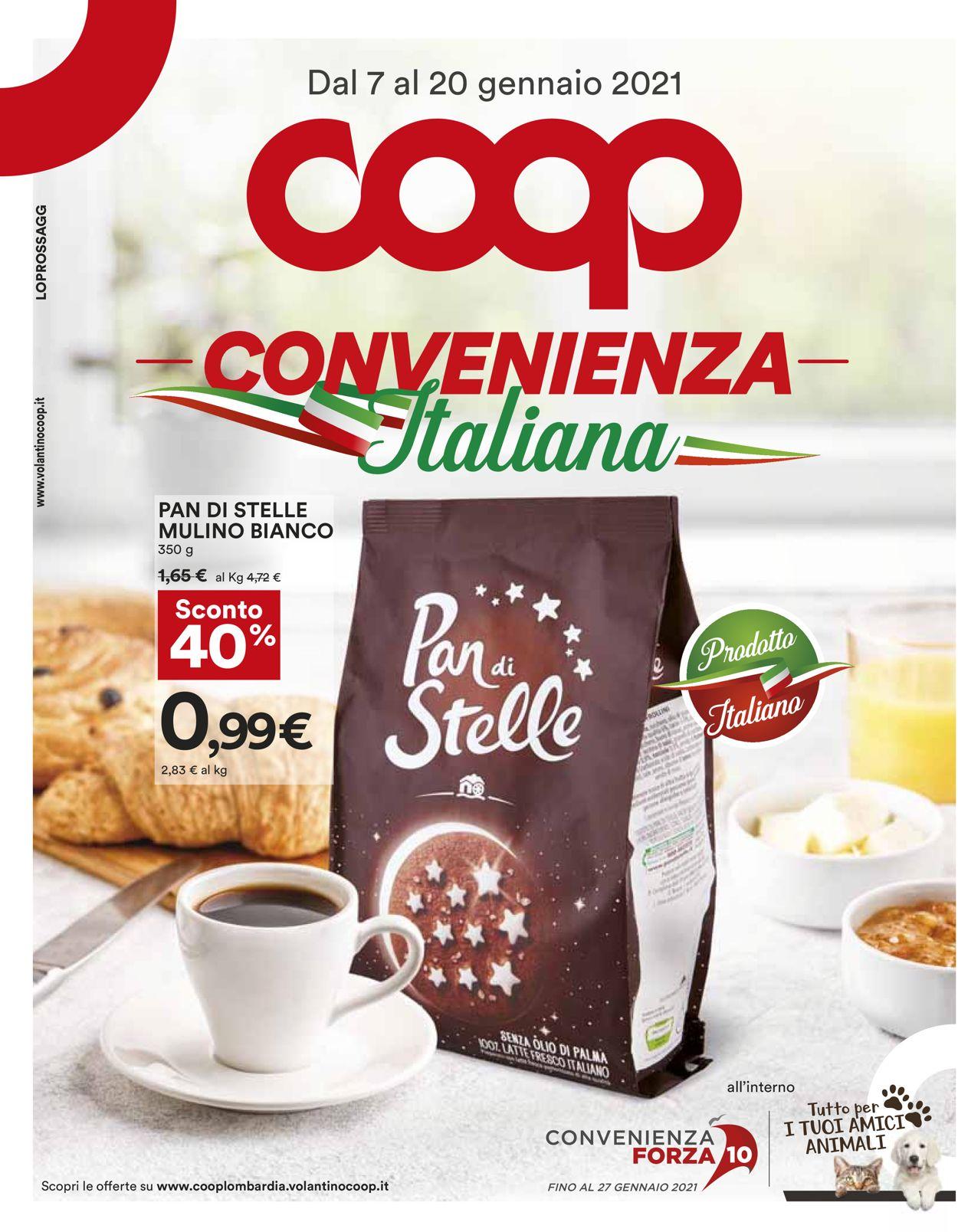 Volantino Coop - Offerte 07/01-20/01/2021