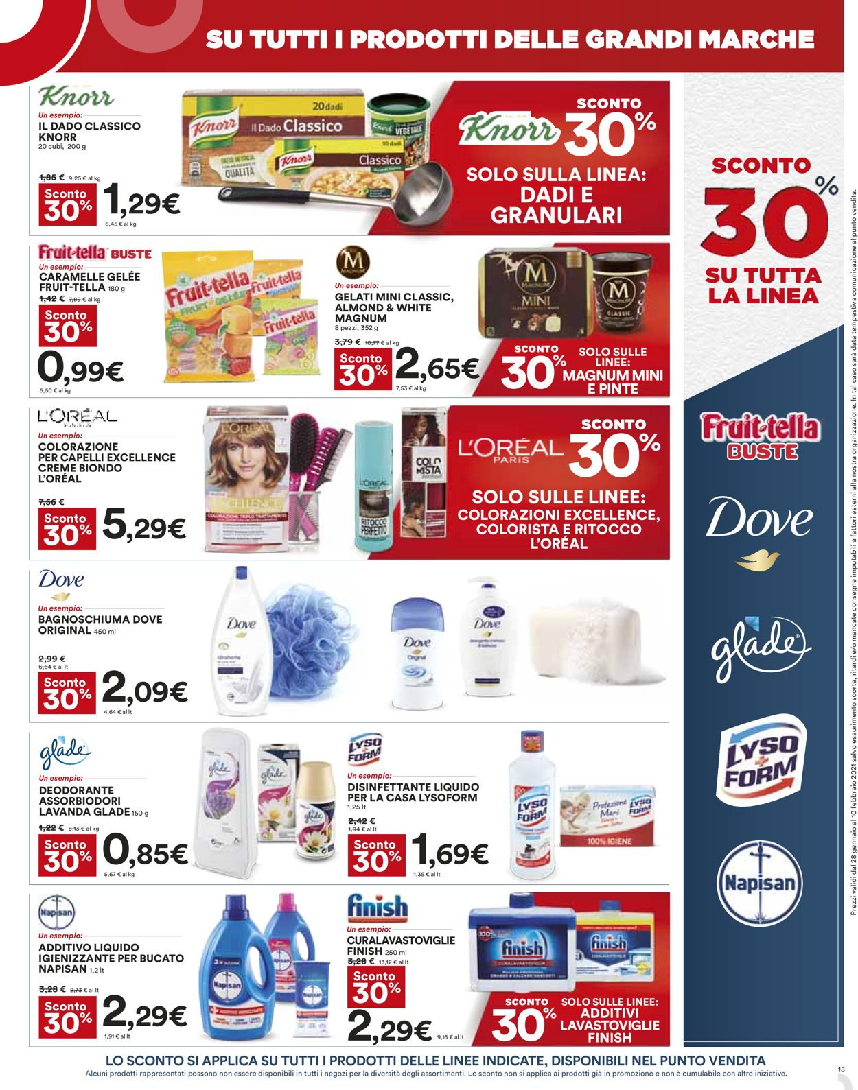 Volantino Coop - Offerte 28/01-10/02/2021 (Pagina 15)