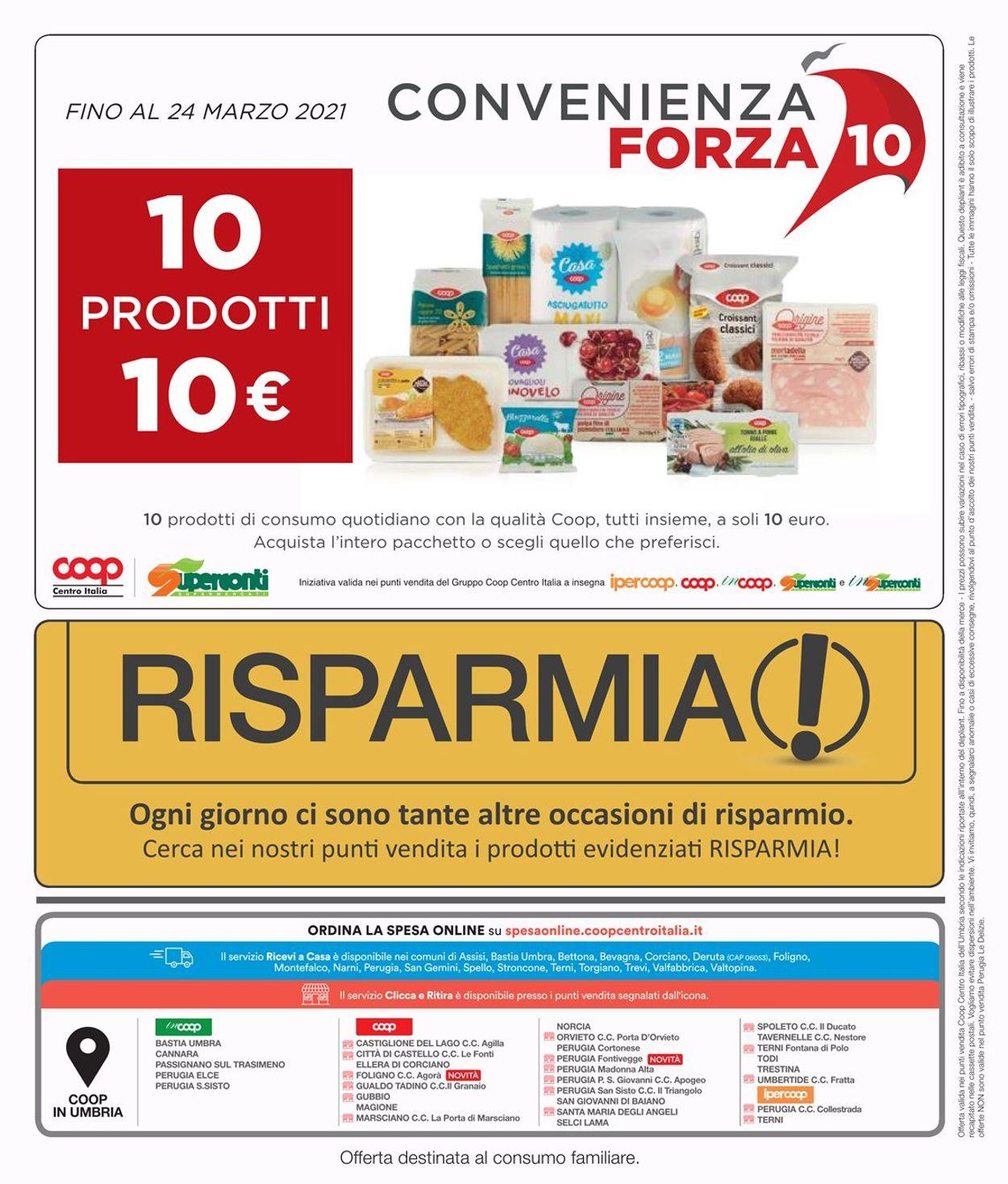 Volantino Coop - Offerte 11/03-24/03/2021 (Pagina 42)