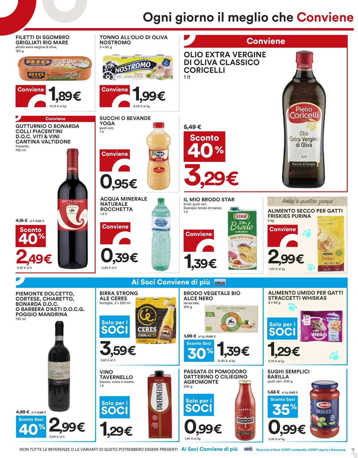 Volantino Coop - Offerte 15/03-24/03/2021 (Pagina 13)