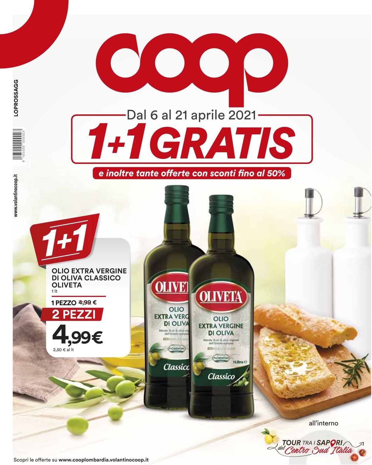Volantino Coop - Offerte 06/04-21/04/2021