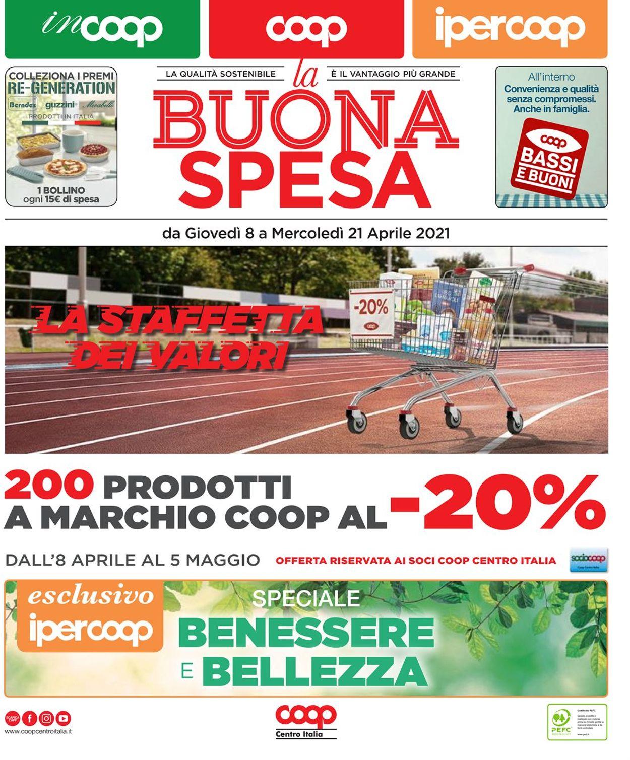 Volantino Coop - Offerte 08/04-21/04/2021