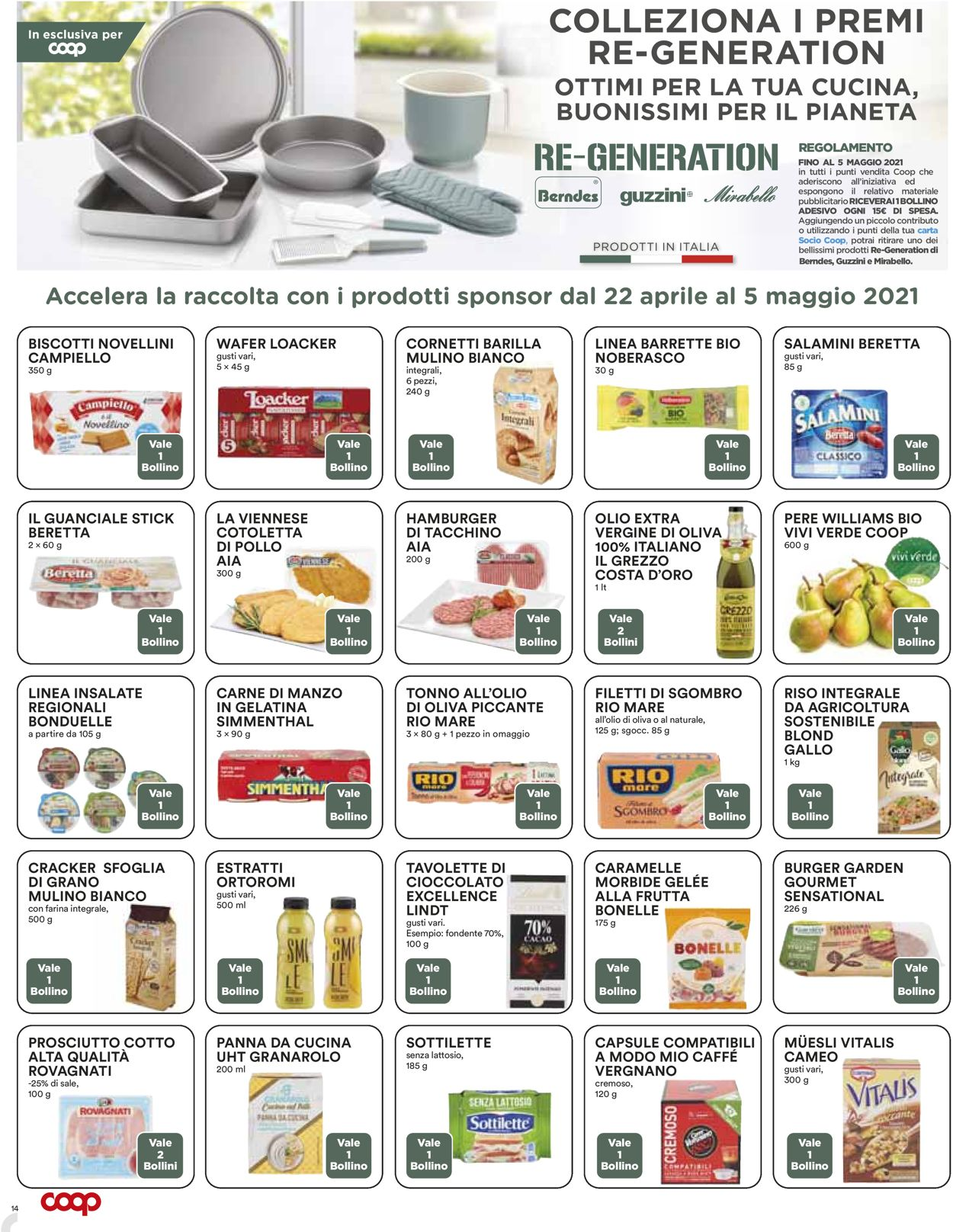 Volantino Coop - Offerte 22/04-05/05/2021 (Pagina 14)