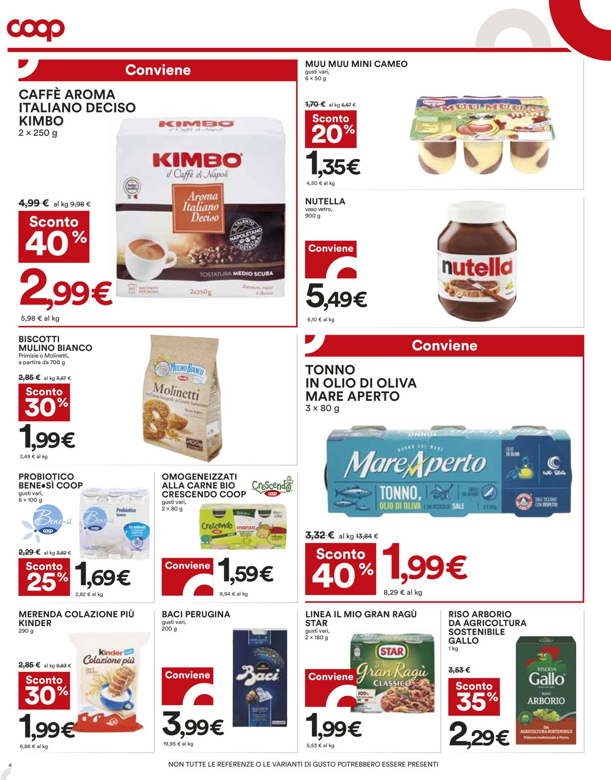 Volantino Coop - Offerte 22/04-05/05/2021 (Pagina 4)