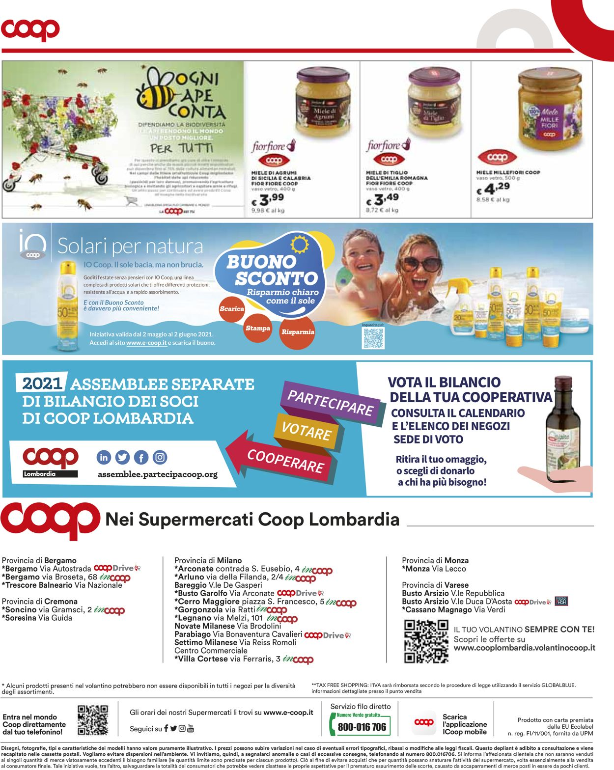 Volantino Coop - Offerte 17/05-26/05/2021 (Pagina 16)