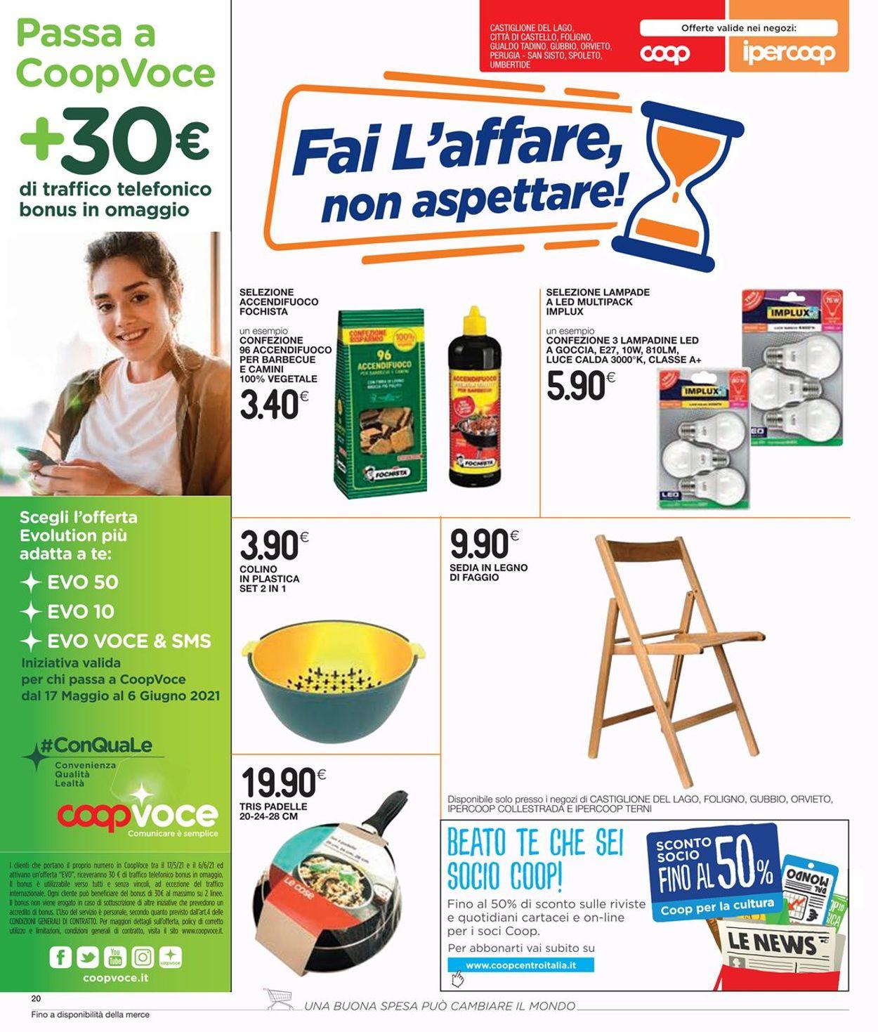 Volantino Coop - Offerte 20/05-02/06/2021 (Pagina 22)