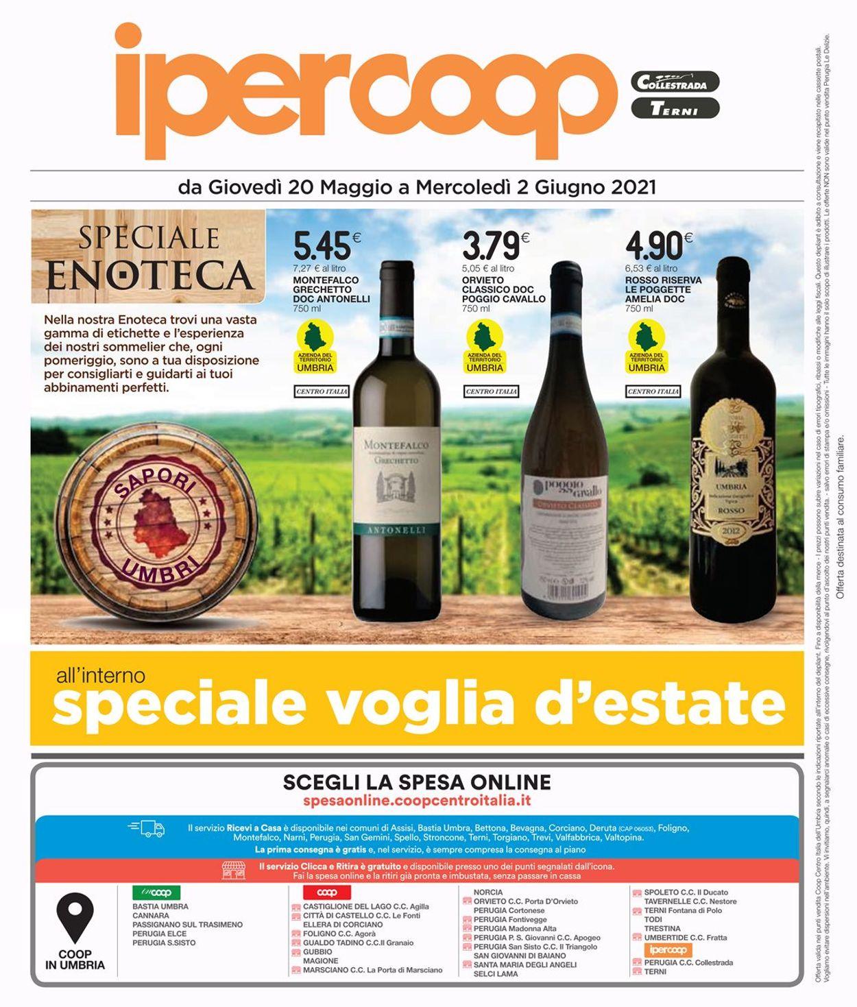 Volantino Coop - Offerte 20/05-02/06/2021 (Pagina 34)