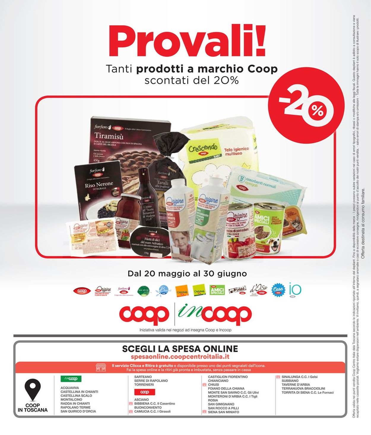 Volantino Coop - Offerte 20/05-02/06/2021 (Pagina 26)