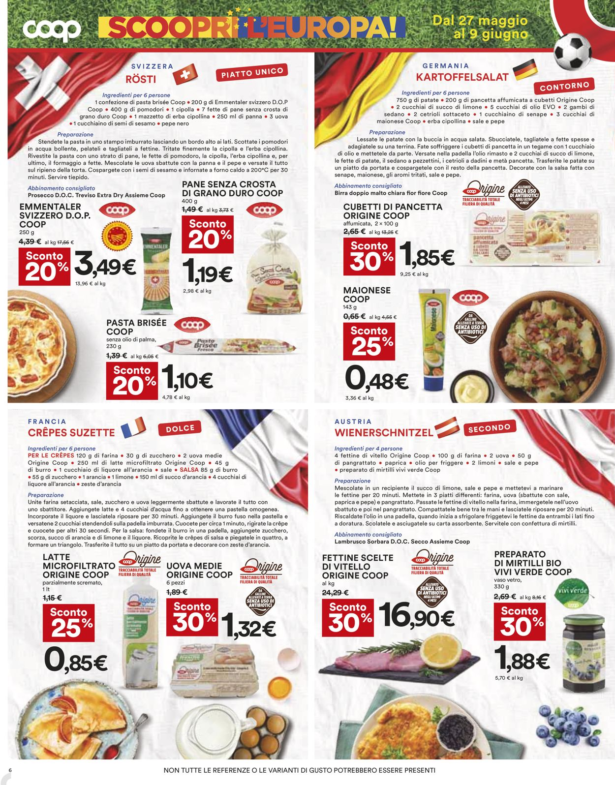 Volantino Coop - Offerte 27/05-09/06/2021 (Pagina 6)