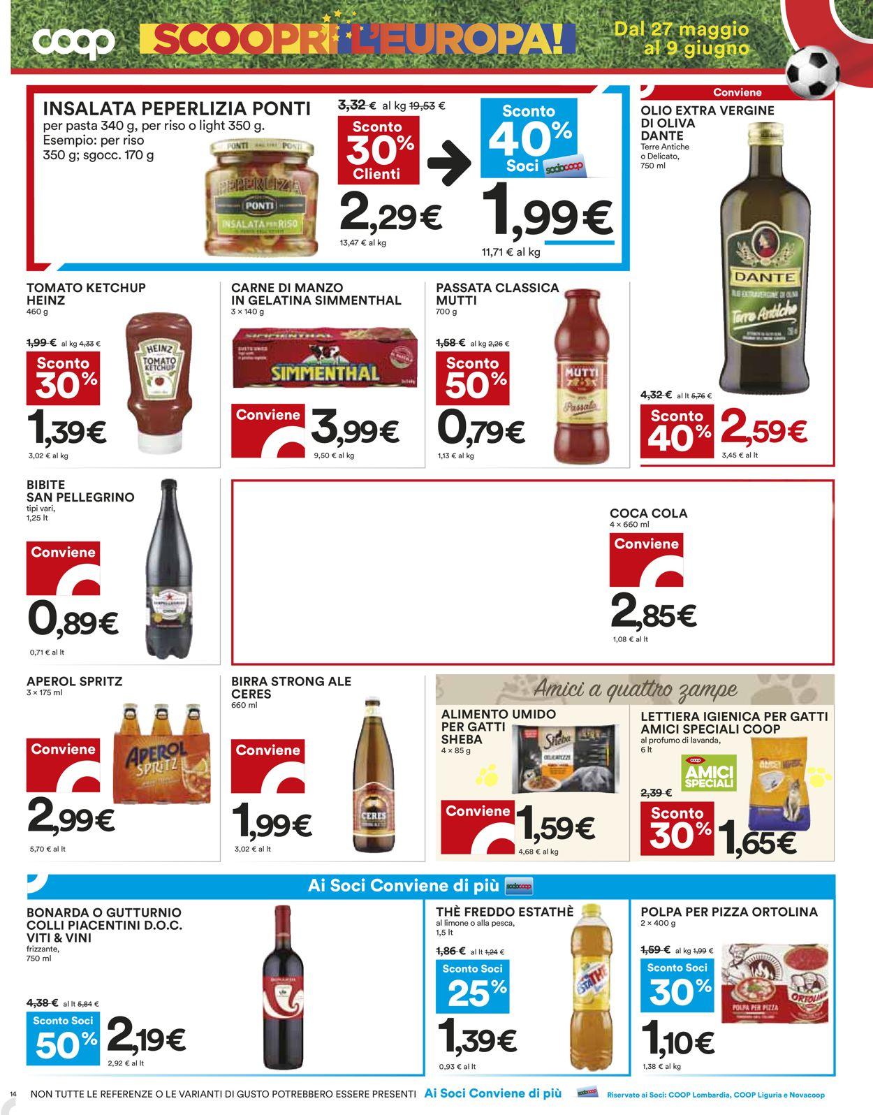 Volantino Coop - Offerte 27/05-09/06/2021 (Pagina 14)