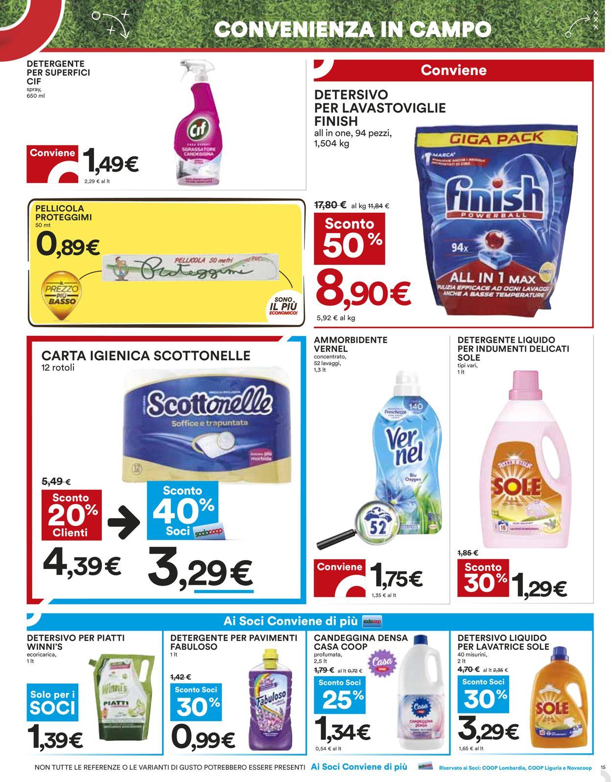 Volantino Coop - Offerte 27/05-09/06/2021 (Pagina 15)