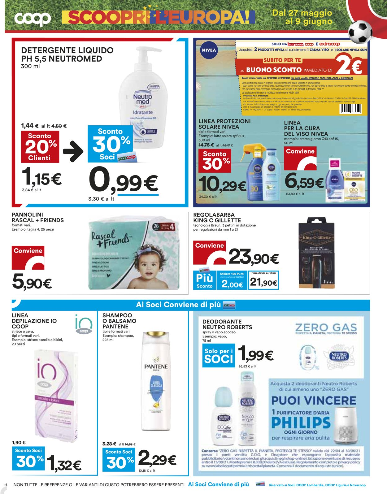 Volantino Coop - Offerte 27/05-09/06/2021 (Pagina 16)