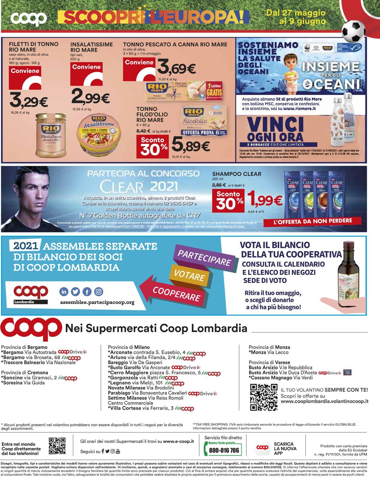 Volantino Coop - Offerte 27/05-09/06/2021 (Pagina 20)
