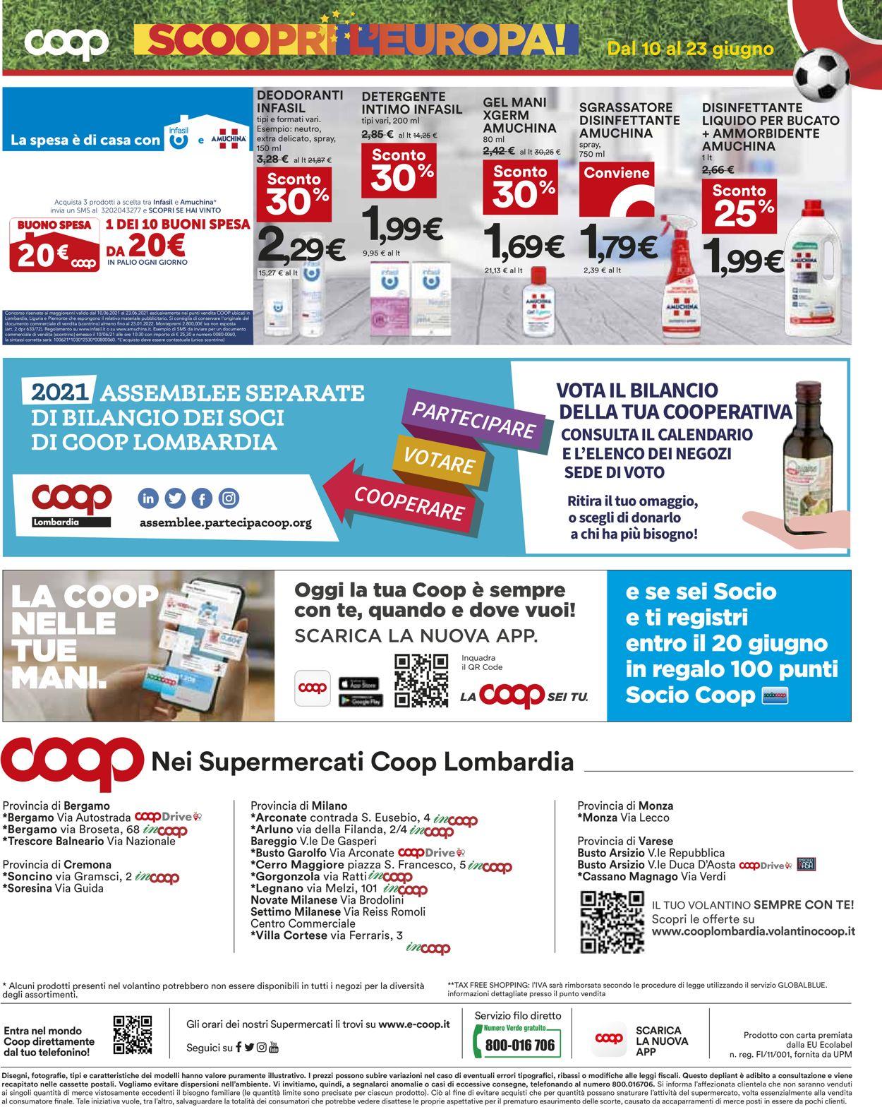 Volantino Coop - Offerte 10/06-23/06/2021 (Pagina 20)