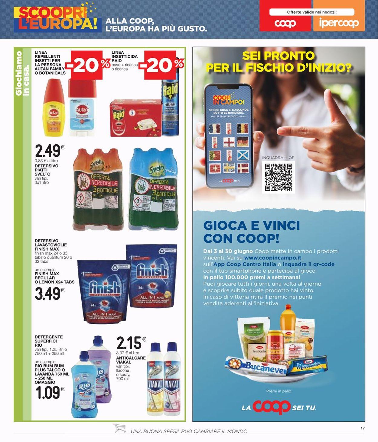 Volantino Coop - Offerte 17/06-30/06/2021 (Pagina 17)