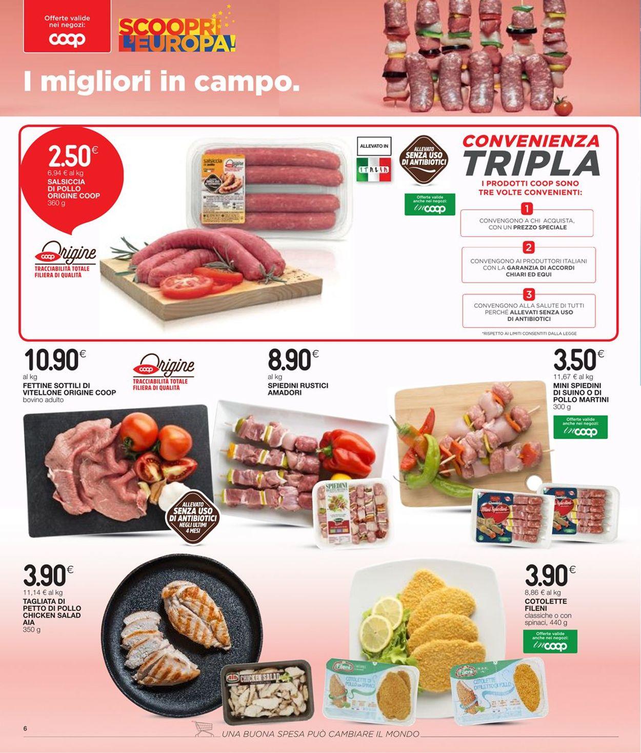 Volantino Coop - Offerte 17/06-30/06/2021 (Pagina 6)
