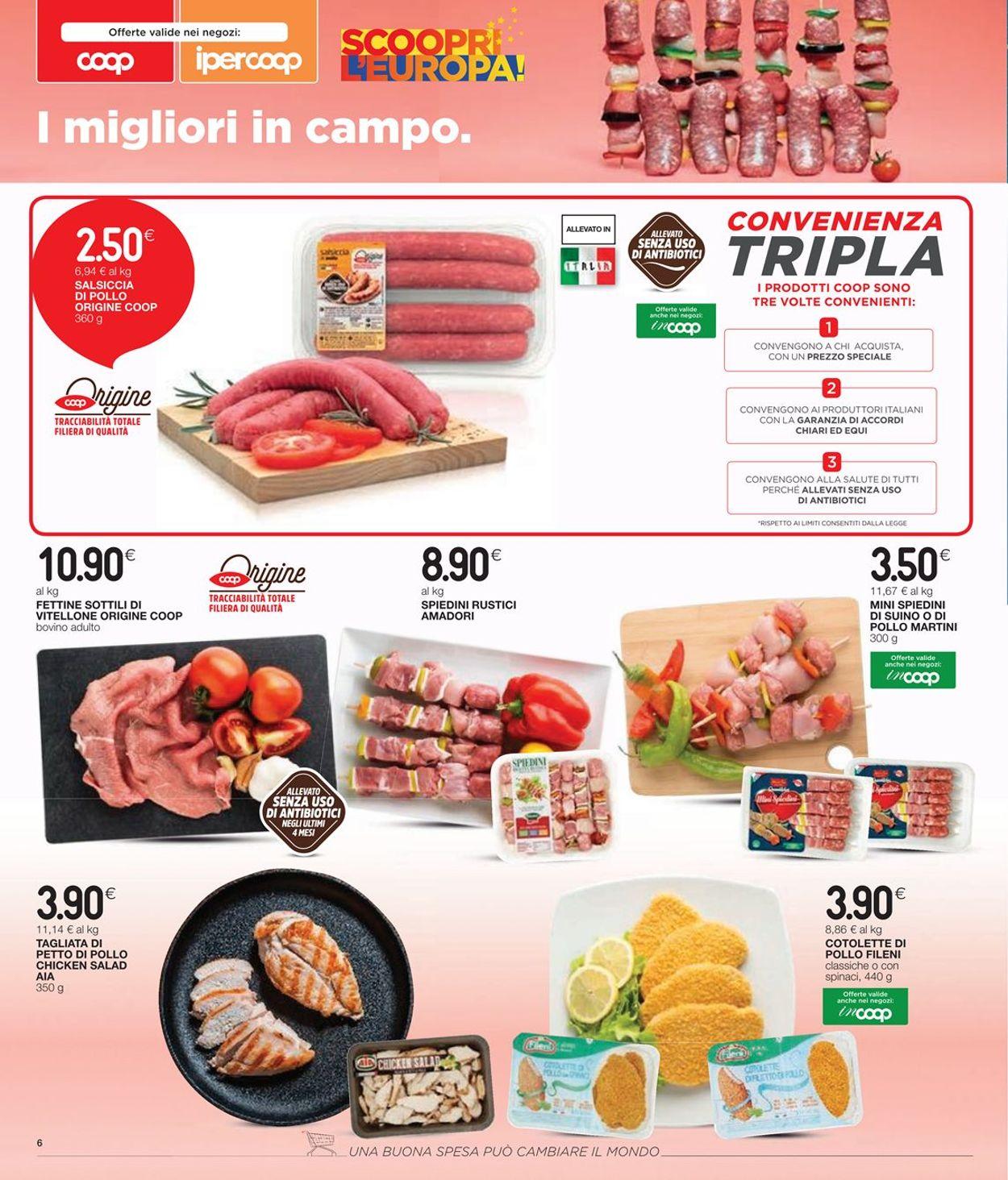 Volantino Coop - Offerte 17/06-30/06/2021 (Pagina 8)